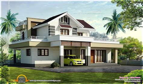 square bedroom design 2200 square feet 3 bedroom house design kerala home design and floor plans