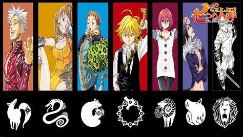 the 7 deadly sins the seven deadly sins wallpapers wallpaper cave