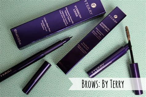 by terry by terry by by terry eyebrow mascara 3 sheer auburn 45ml by terry brows a beauty junkie in london