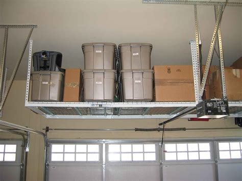 overhead garage storage system specialists how to build garage storage systems