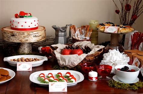 baby shower food ideas   red riding hood party