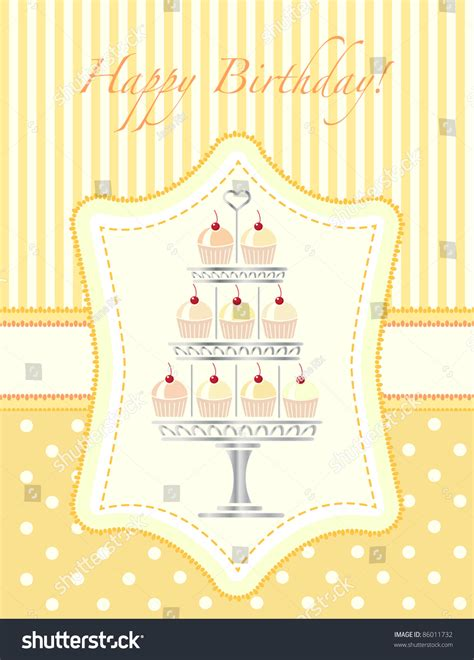 card cake stand template a stencil style silver cake stand of cherry cupcakes