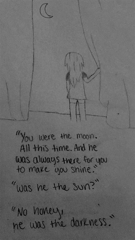 Sketches With Quotes by By Hagen Sad Drawings Drawings Sad