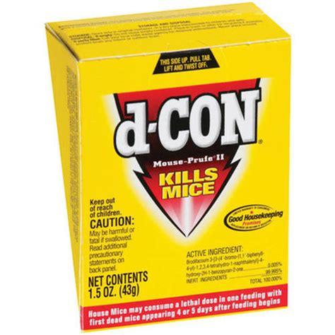 d con mouse prufe ii rodenticide 1 5 oz other grocery