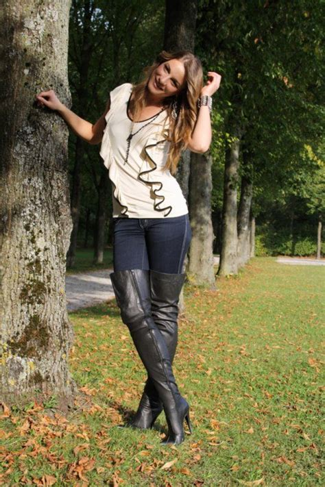 Bj 0788 Simple Casual Blouse 153 best boots iv images on high boots high