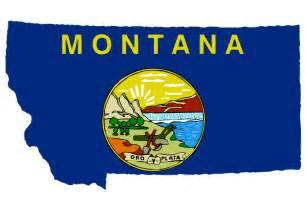 montana state colors clipart montana