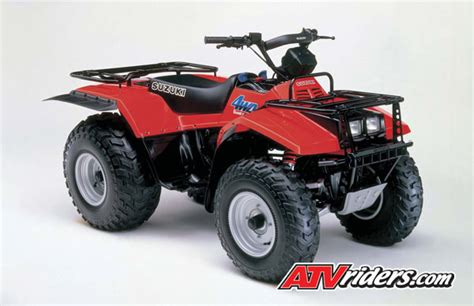 1987 Suzuki Quadrunner Suzuki Looks Back On 25 Years Of Atv Success