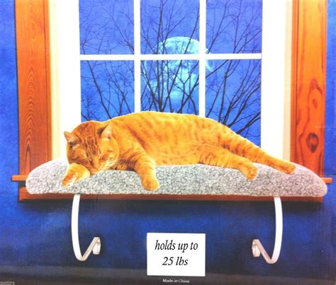 cat window bed window mounted cat bed with removable sheepskin