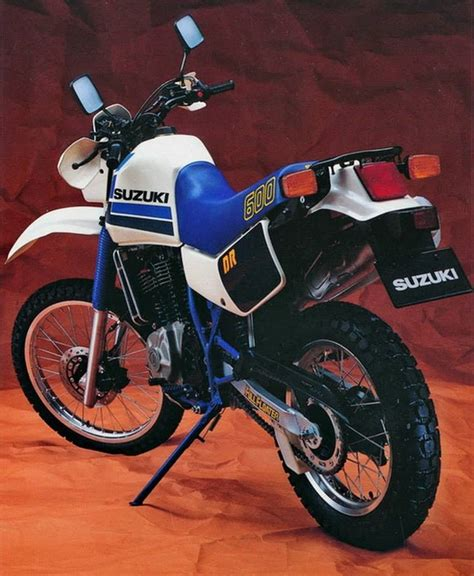 suzuki dr  vintage classic enduro trail