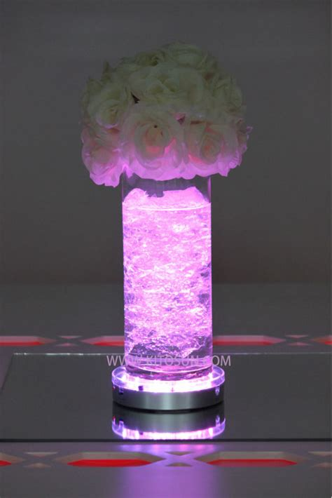 Floral Lights Centerpieces Vase Lights Led Flower