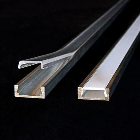 led light channel klus b1888anoda 3 28 ft led light channel