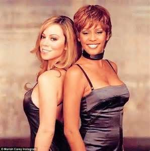 Mariah carey pays tribute to her friend whitney houston with throwback