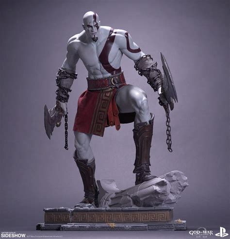 god of war kratos statue by efx sideshow collectibles