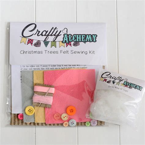 make your own light decorations make your own felt tree decorations by crafty