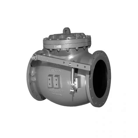 mueller swing check valve mueller 174 14 quot 36 quot swing type lever and spring check valves