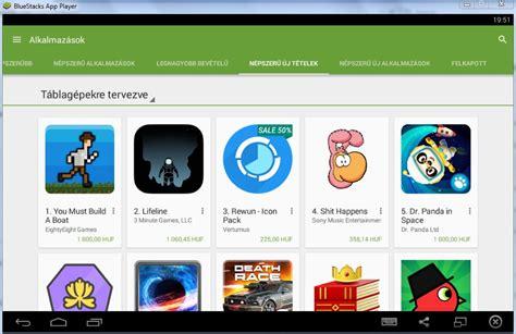 bluestacks android emulator android emulator programok mobilefanatics hu