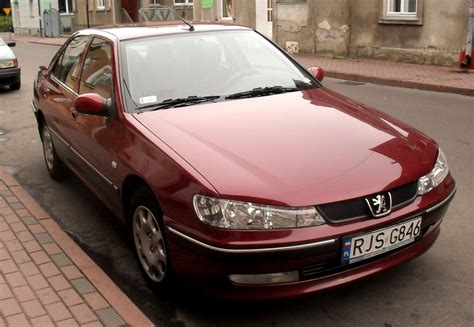 peugeot red peugeot 406 review and photos