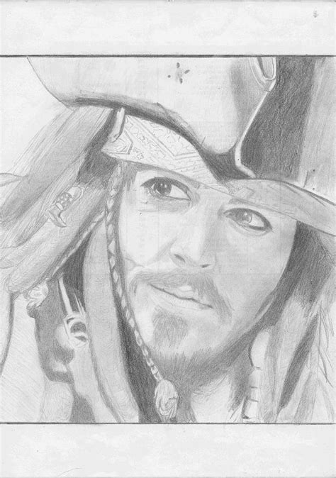 imagenes de jack sparow algunos de mis primeros dibujos taringa