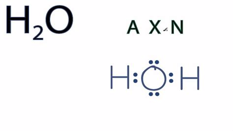 electron dot diagram of h2o h2o lewis structure gallery