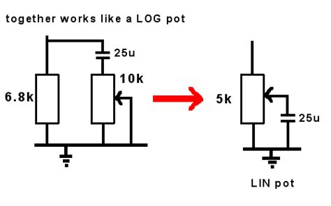 logarithmic resistor network what is logarithmic resistor 28 images overdriver can this be a solution for the quot