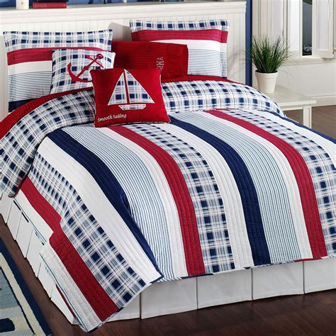 nautical bed set nautical bedspreads decoration for kids room