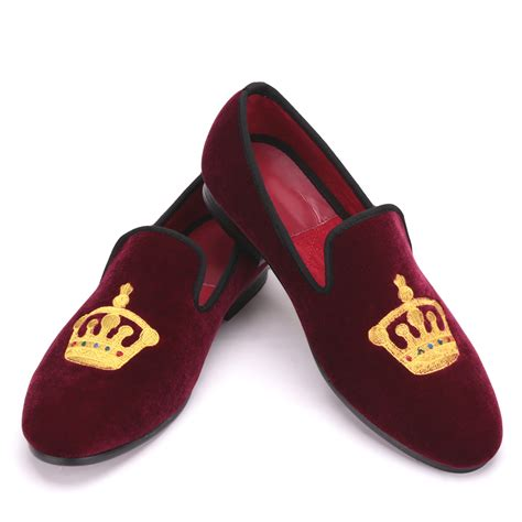 gold slippers aliexpress buy embroidered gold crown designg
