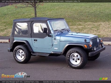 Jeep Wrangler Sport 4x4 Gunmetal Pearl 1997 Jeep Wrangler Sport 4x4 Photo 4