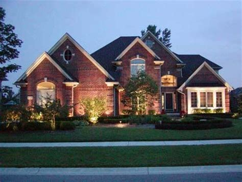House Outdoor Lighting Ideas 17 Best Images About Brick Homes On Brick Home Exteriors Beautiful Homes And
