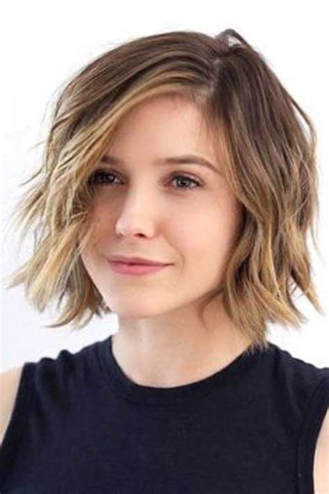 hair style for round faces in 30s 30 short haircuts for round faces crazyforus