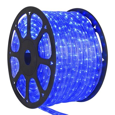50ft blue led rope light
