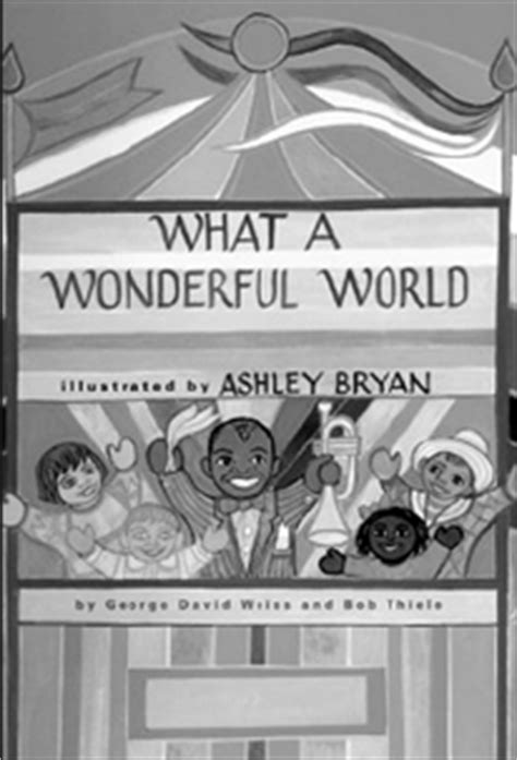 what a wonderful world picture book s book letter what a wonderful world