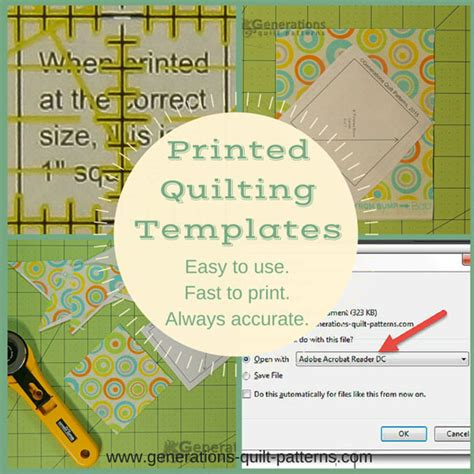 How To Use Quilting Templates Free Quilting Templates Easy To Use Fast To Make