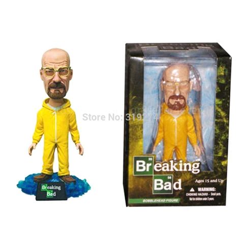 bobblehead box mezco breaking bad heisenberg walter white bobble
