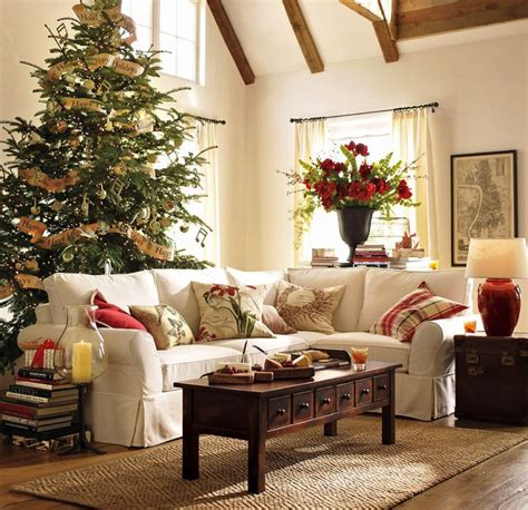 Christmas Tree Living Room | 6 quick tips on rearranging your living room for the