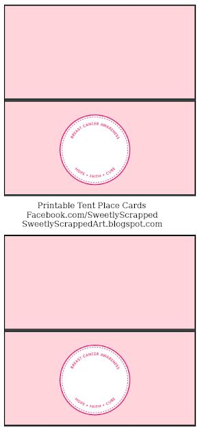 printable tent place cards template sweetly scrapped 10 2 11