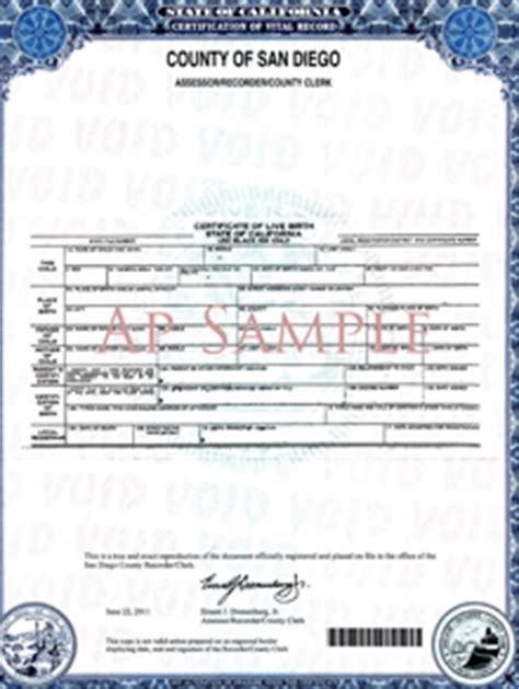 Ventura County Birth Records Santa Apostille Watsonville Apostille Capitola Apostille Scotts Valley