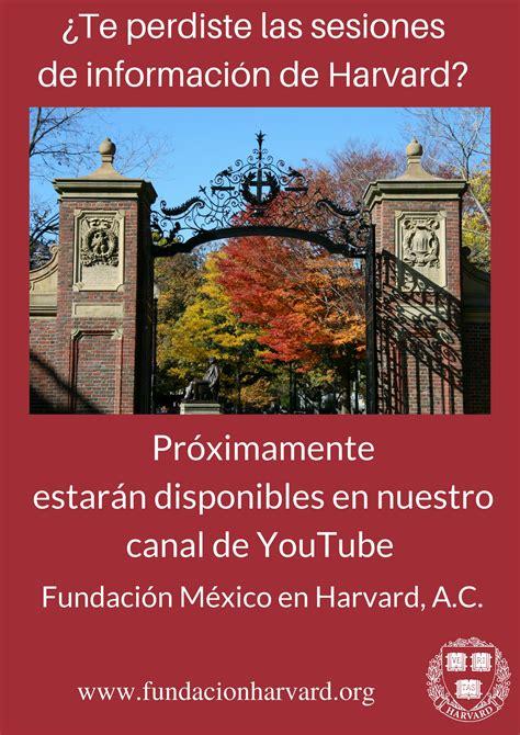 Harvard Mpa Or Mba by Fundaci 243 N Harvard En M 233 Xico