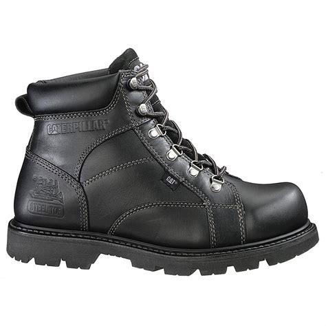 black steel toe boots for s cat 174 mortar 6 quot steel toe boot black 98943 work