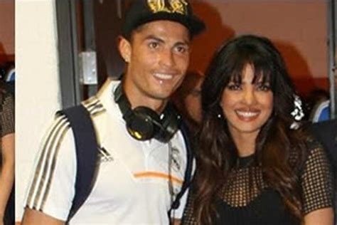 priyanka chopra meets cristiano ronaldo bollywood beauties who love cristiano ronaldo rss