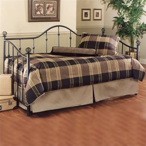 Daybed Mattress Only by Chalet Metal Daybed In Black Finish 11177dblhxx