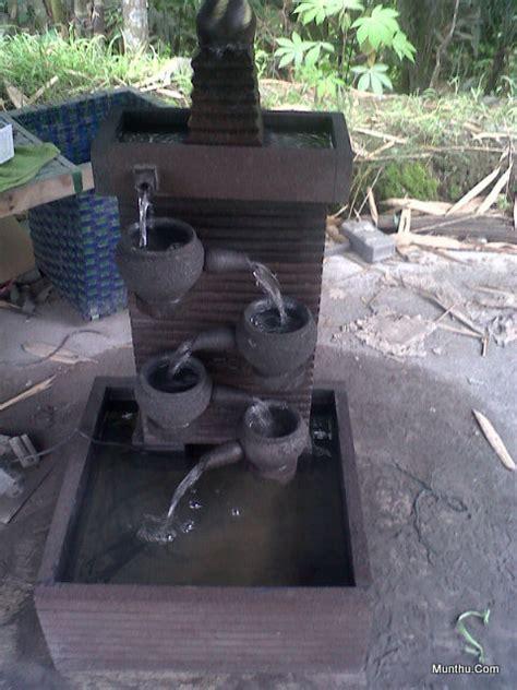 Mini 2 Di Surabaya jual kerajinan batu kolam air mancur luas 40 215 45 cm tinggi 95cm pompa munthu