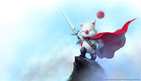 wallpaper animasi final fantasy moogle wallpapers wallpaper cave