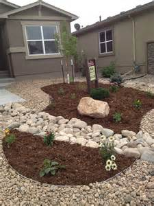 front yard xeriscape lawn free yard pinterest