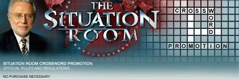 cnn situation room live cnn the situation room crossword promotion