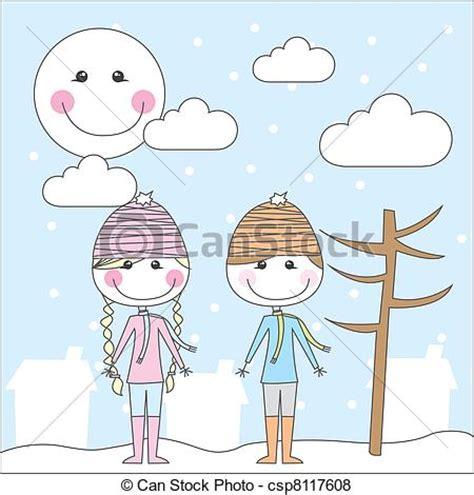 imagenes de invierno caricatura caricaturas en invierno imagui