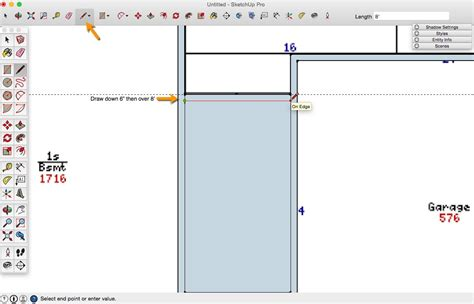 sketchup layout line thickness how to draw a 2d sketchup floor plan from an image file
