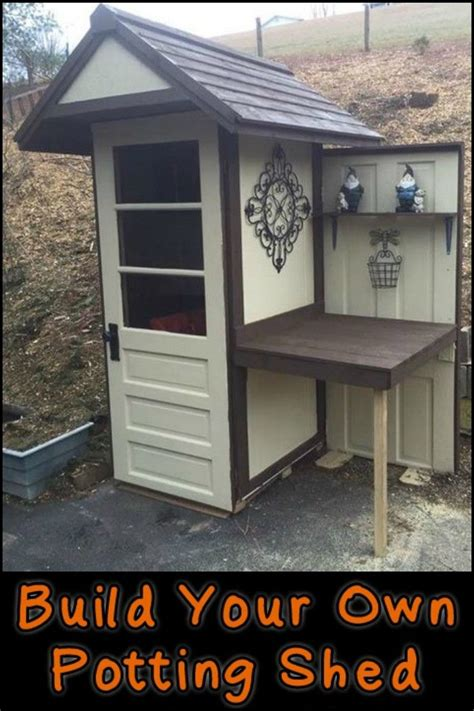 build your own potting bench 17 best ideas about garden sheds on pinterest sheds