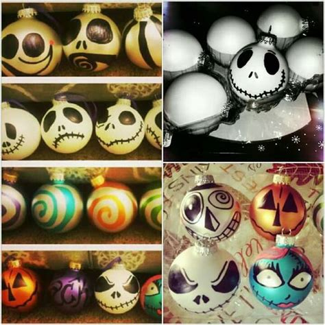 how to make nightmare before ornaments trees nightmare before and before on