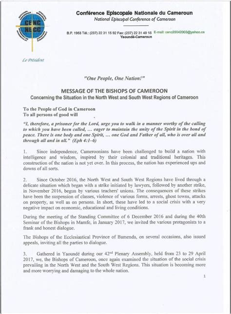Resignation Letter It Is With Mixed Emotions bishops letter scandy media