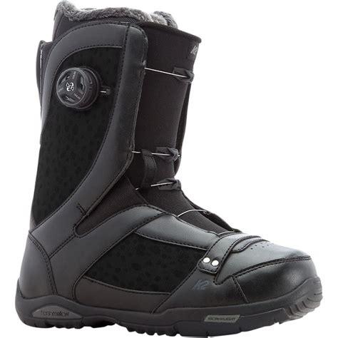 k2 snowboards sapera boa snowboard boot s